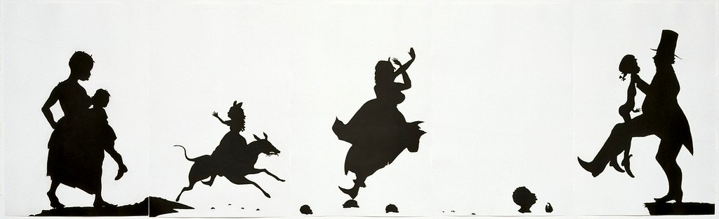 "Kara Walker, ""The Means to an End,"" 1995"