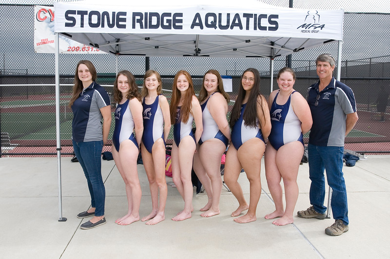 Stone Ridge Christian Swim Team 2019