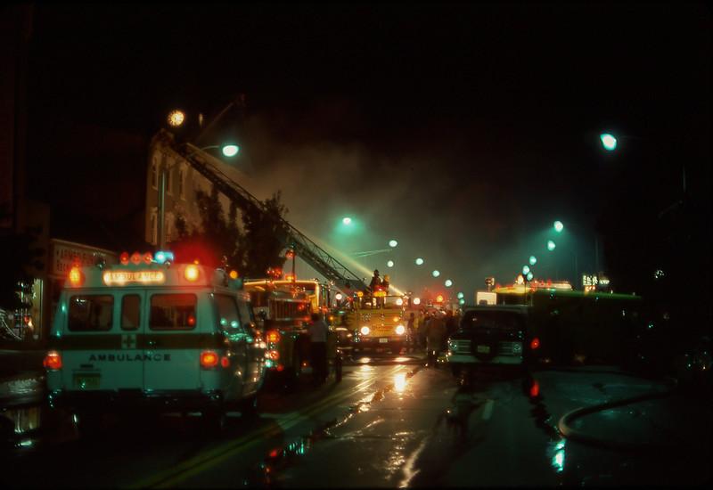 Newton Bar Fire