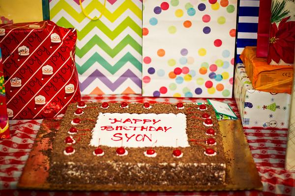 Syon 3rd Birthday Bash