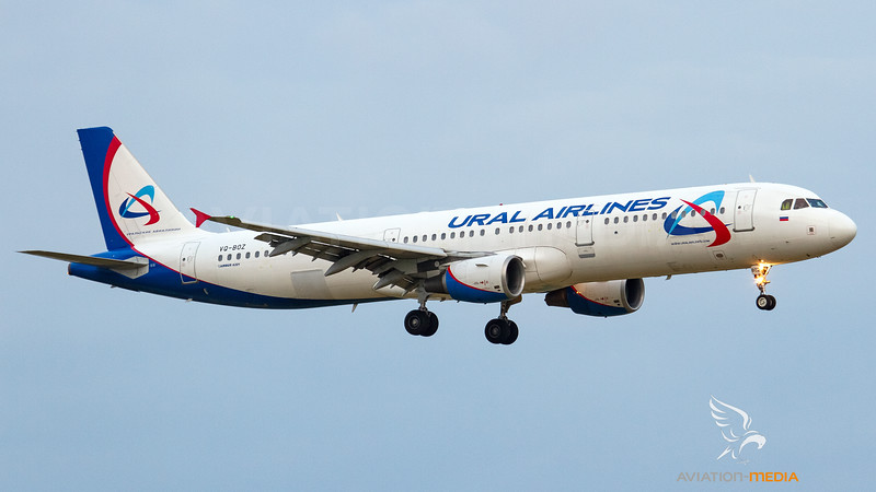 Ural Airlines_Airbus A321 VQ-BOZ