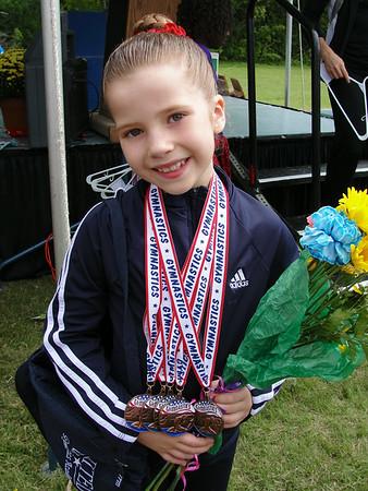 Sep 2012 - Miranda's District Gymnastics Meet