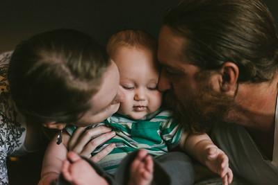 Lauren & Brady Family Session