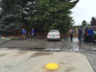 MHS Swim Team Car Wash 09-13-15