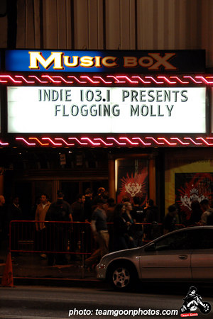 Flogging Molly - Street Dogs - Two Point Eight at the Fonda Theater - Hollywood, CA - February 22, 2007