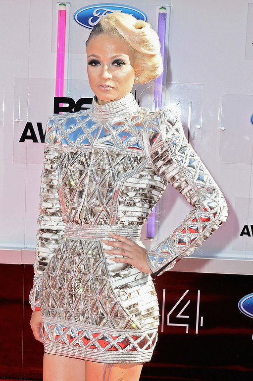 . Rapper Charli Baltimore attends the BET AWARDS \'14 at Nokia Theatre L.A. LIVE on June 29, 2014 in Los Angeles, California.  (Photo by Earl Gibson III/Getty Images for BET)