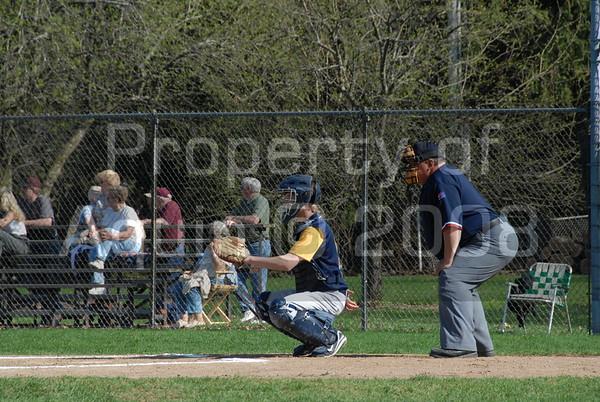 varsity baseball v. dakota 4.23.08