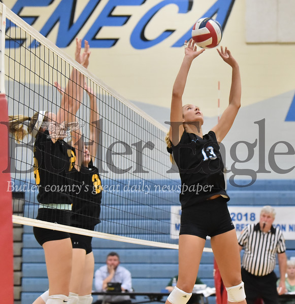 91127 Seneca Valley vs North Allegheny WPIAL 4A Girls Volleyball game at Seneca Valley Gym