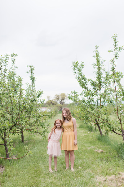 Mould Girls at the Apple Orchard