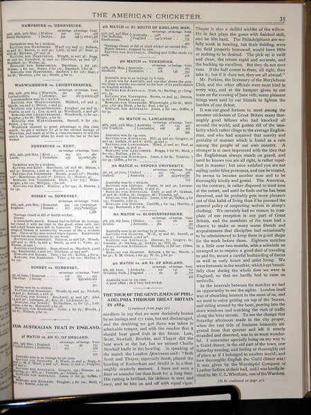 GOP English Tour 1884
