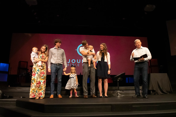 Heath Baby Dedication