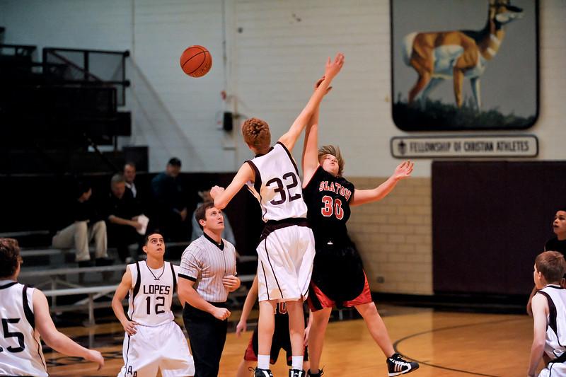 Antelope Basketball JV vs Slaton 12-07-2010