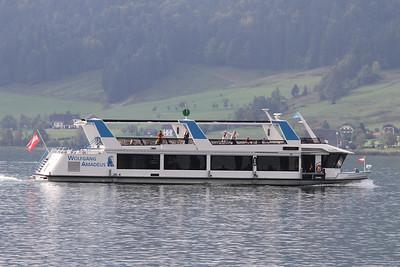 Ferries of Lake Wolfgang