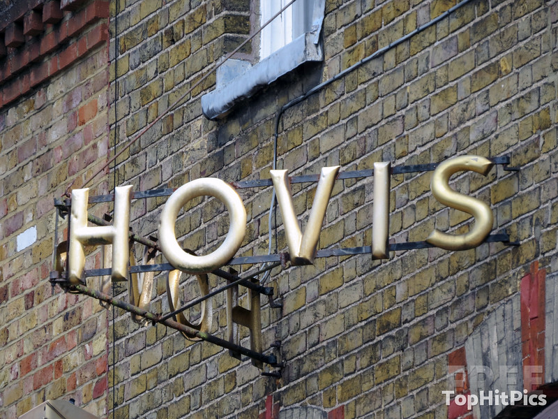 A Hovis Bread Sign in Windsor, Berkshire, England