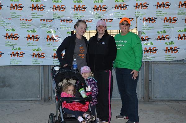 2013 Walk MS San Antonio Team Photos