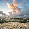 Sunset Clouds over Jerusalem