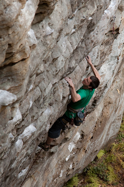 ME just on Everything That Rises Must Concerge 5.11d at Bibliothek