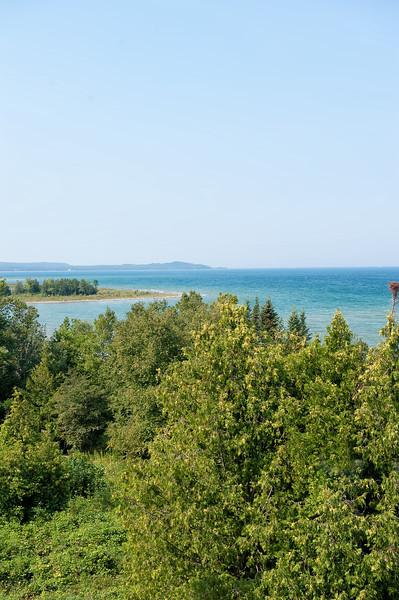 056 Michigan August 2013 - Grand Traverse Lighthouse Shore.jpg