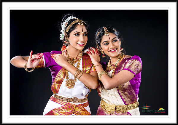 Ajitha & Nandika's Pre-Arangetram Portraits 2018