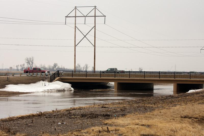 Diversion bridge, North