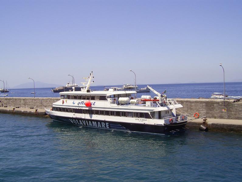 2007 - HSC CITTA' DI AMALFI in Capri.