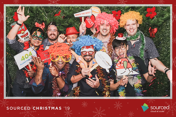 Sourced Group Christmas Party 2019
