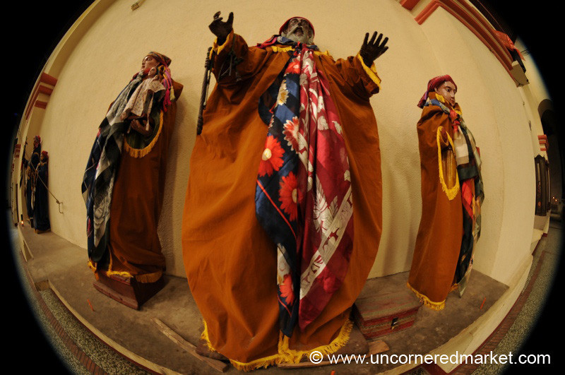 Santiago La Laguna, Church Statues - Guatemala