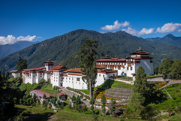 Bhutan's Dzong's, Monasteries and Chortem's