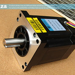 SKU: AE-MOTOR/500B, 500B 1.8° High-Torque Hybrid Stepper Motor, 86BHH114-500B-L35C, 4 Leads for EasyRoute STD Router