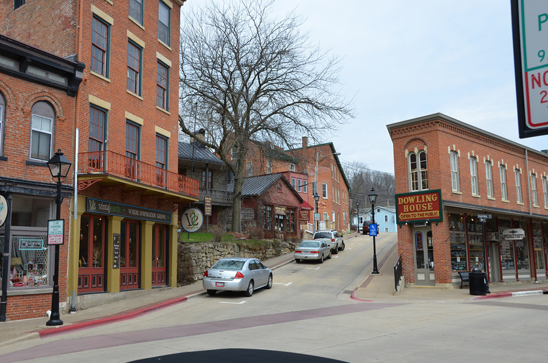 Downtown Galena.