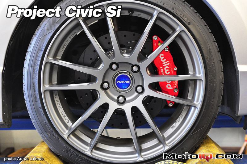 Project Civic SI, Wilwood Brakes