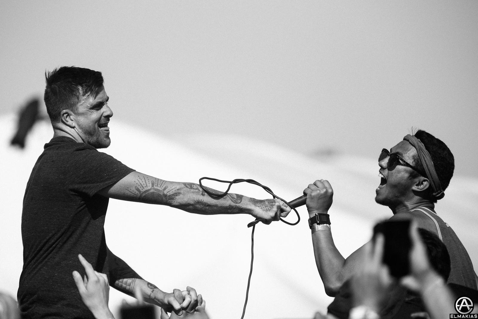 Circa Survive live at Coachella