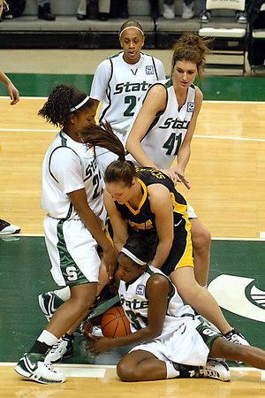 College Basketball - Iowa at MSU - Jan 21