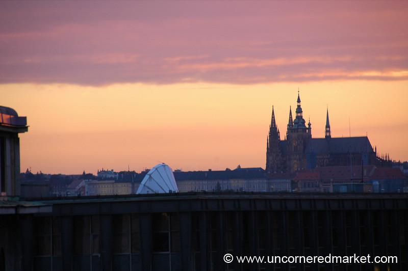 Castle Sunset Views - Prague, Czech Republic