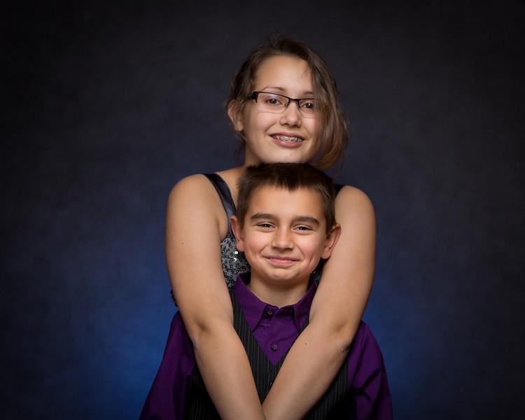 Kid Portraits Xmas 2013
