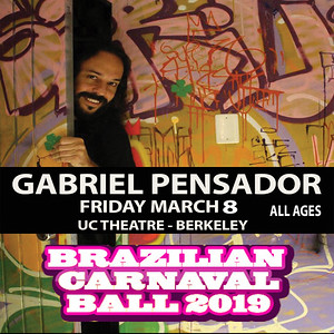 gABRIEL PENSADOR LIVE IN BERKELEY
