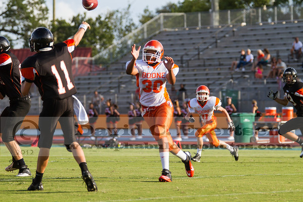 Boone Freshman Football #30 2012