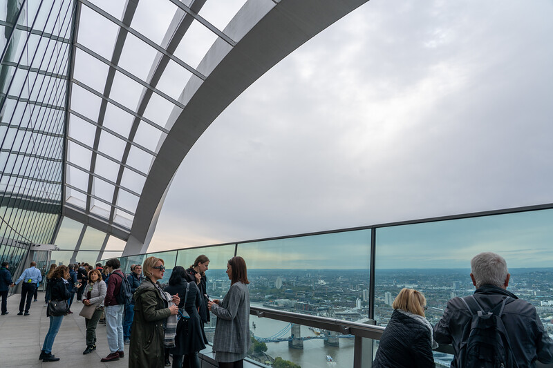Sky Garden viewing deck