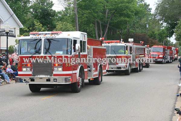 5/27/13 - Mason & Dansville Memorial Day parades