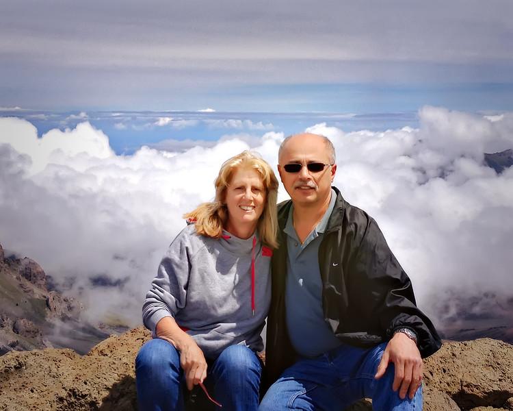 Gail & Gino in Hawaii....