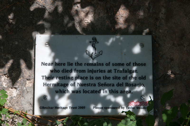 Another memorial sign spotted in Gibraltar