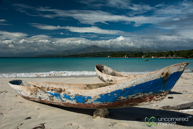 Fishing Boats at Pointe Sable - Port Salut, Haiti