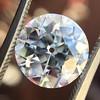 3.69ct Old European Cut Diamond GIA E VS2 15