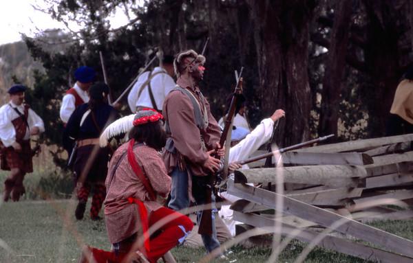 Fort King George Re-enactment 1998 Darien, Georgia