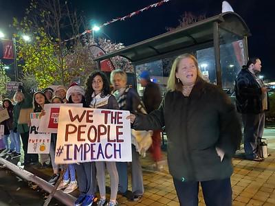 Dec 17 Impeachment Eve Rally - Castro Valley