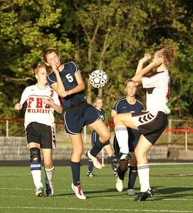 2010 Oakwood Girls JV Soccer vs Franklin
