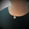 1.04ctw Victorian Rose Cut Diamond Pendant 19
