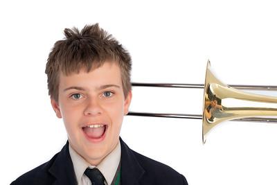 Joseph with Trombone