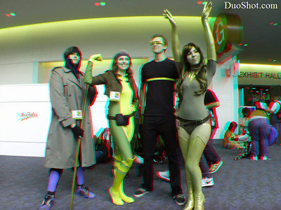 SDCC 2012 Friday Anaglyph