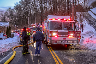2-23-2021 Structure Fire, Sprout Brook Road, Photos By Bob Rimm